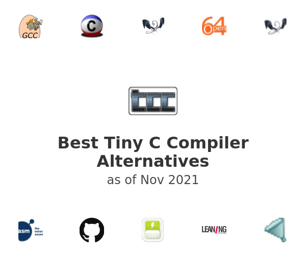 Best Tiny C Compiler Alternatives