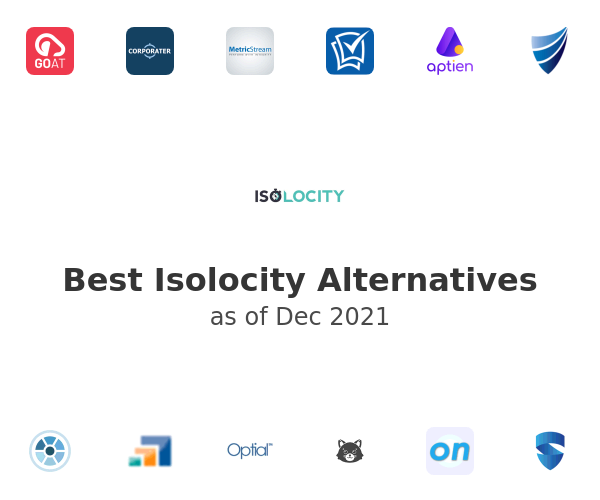 Best Isolocity Alternatives