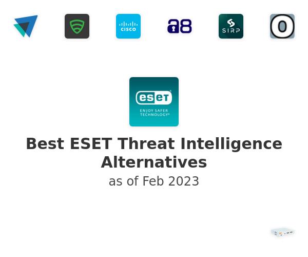 Best ESET Threat Intelligence Alternatives