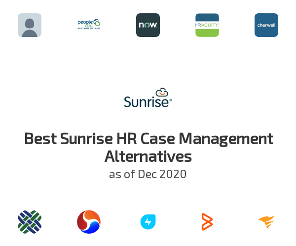 Best Sunrise HR Case Management Alternatives