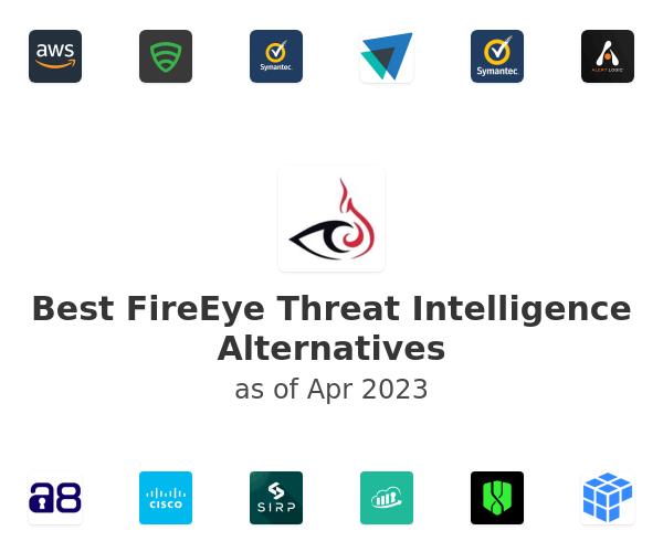 Best FireEye Threat Intelligence Alternatives