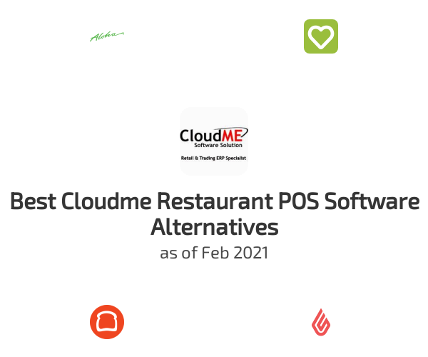 Best Cloudme Restaurant POS Software Alternatives