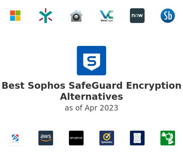 Best Sophos SafeGuard Encryption Alternatives