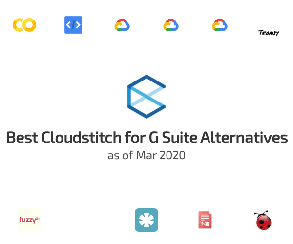 Best Cloudstitch for G Suite Alternatives