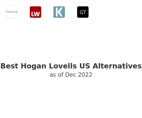 Best Hogan Lovells US Alternatives