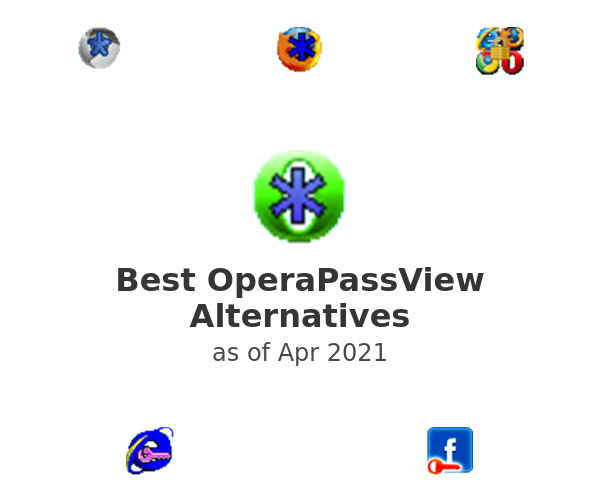 Best OperaPassView Alternatives