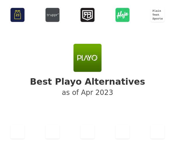 Best Playo Alternatives