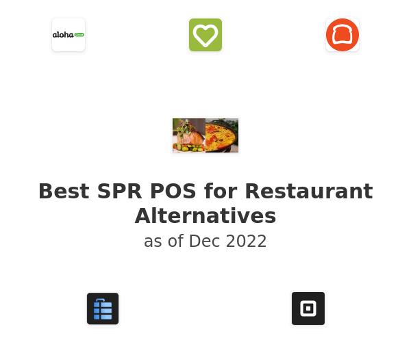 Best SPR POS for Restaurant Alternatives