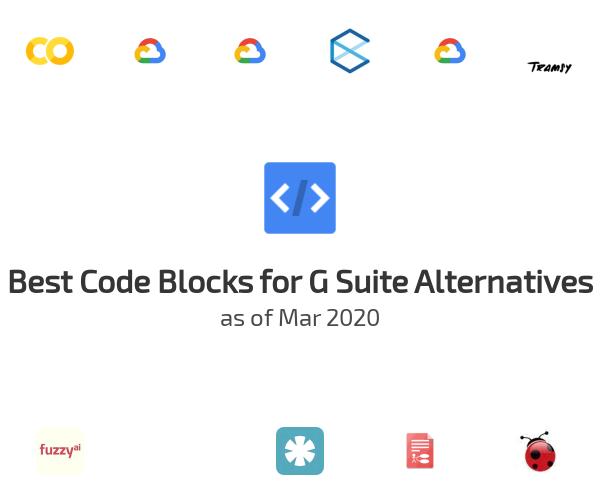 Best Code Blocks for G Suite Alternatives