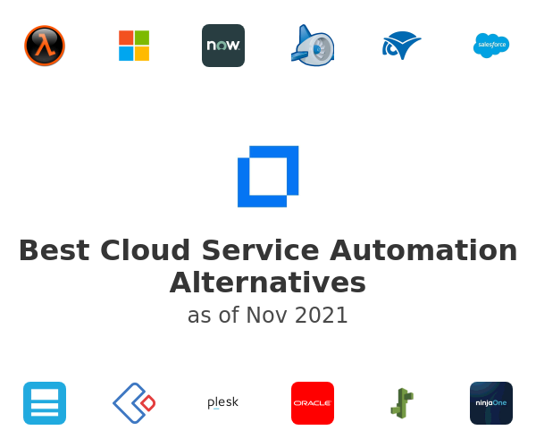 Best Cloud Service Automation Alternatives