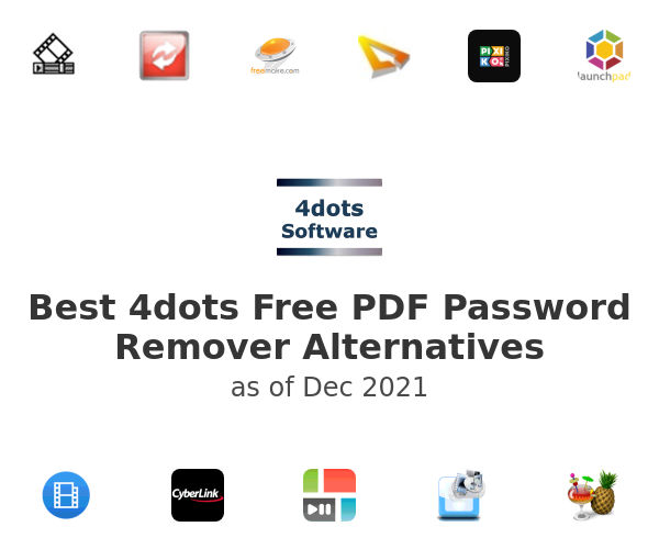 Best 4dots Free PDF Password Remover Alternatives