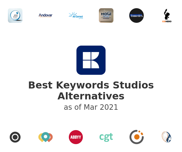 Best Keywords Studios Alternatives
