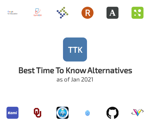Best Time To Know Alternatives
