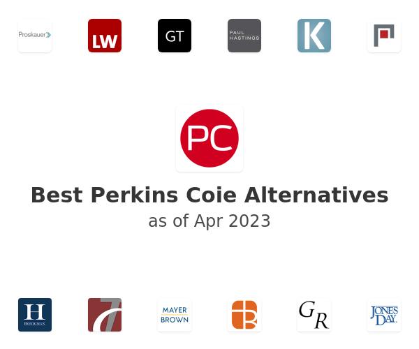 Best Perkins Coie Alternatives