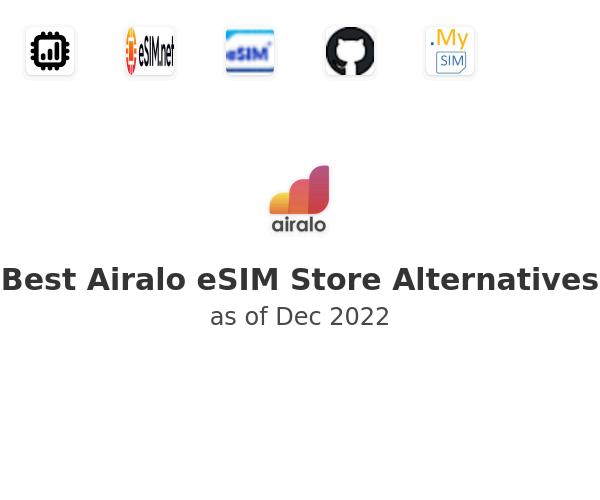 Best Airalo eSIM Store Alternatives