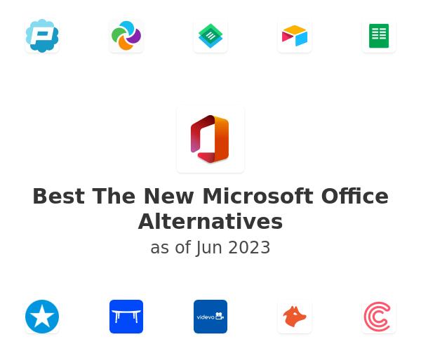 Best The New Microsoft Office Alternatives