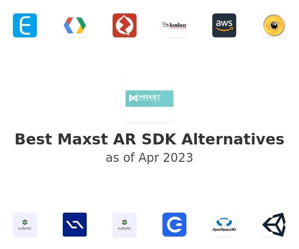 Best Maxst AR SDK Alternatives