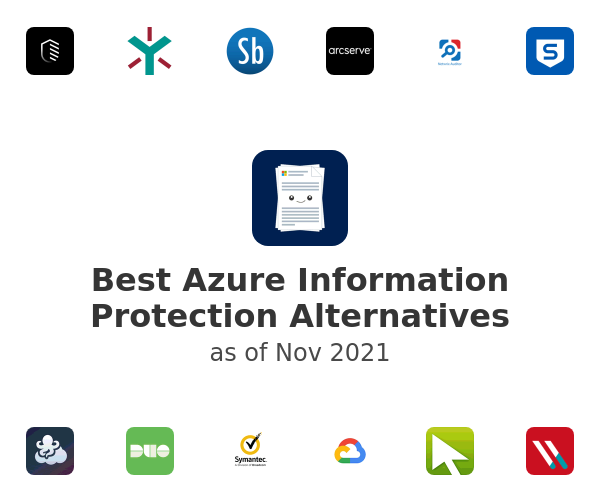 Best Azure Information Protection Alternatives