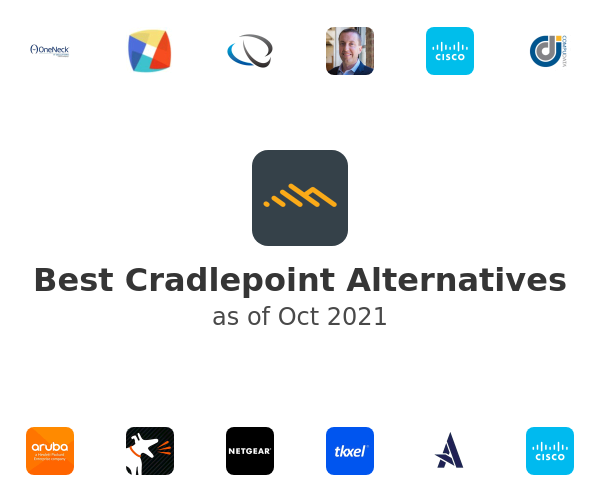 Best Cradlepoint Alternatives