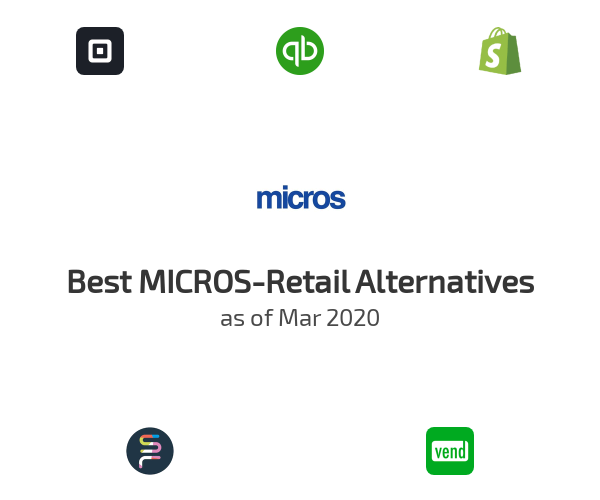 Best MICROS-Retail Alternatives