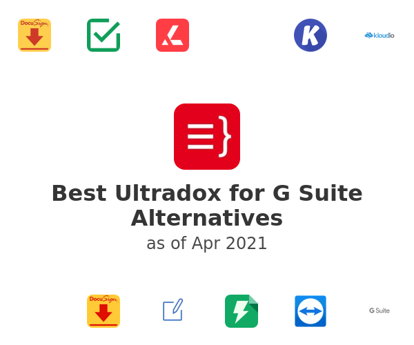 Best Ultradox for G Suite Alternatives