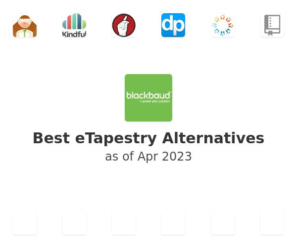Best eTapestry Alternatives