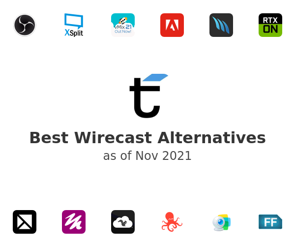 Best Wirecast Alternatives