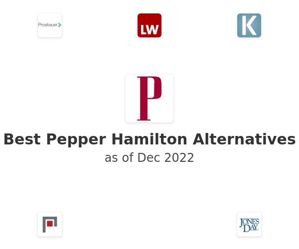 Best Pepper Hamilton Alternatives