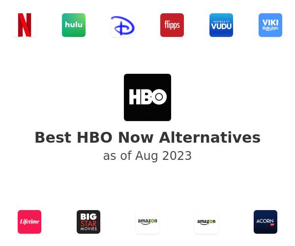 Best HBO Now Alternatives