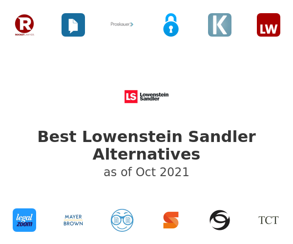 Best Lowenstein Sandler Alternatives
