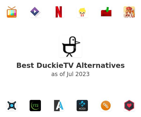 Best DuckieTV Alternatives