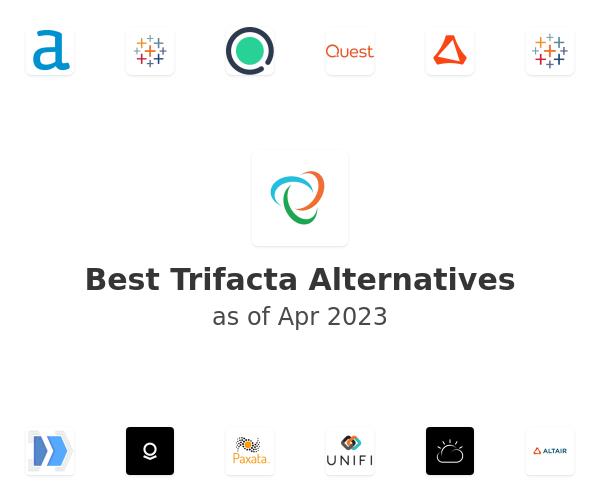 Best Trifacta Alternatives