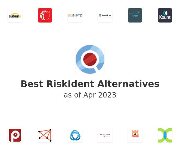 Best RiskIdent Alternatives