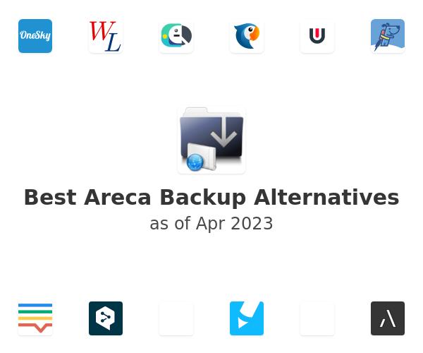Best Areca Backup Alternatives