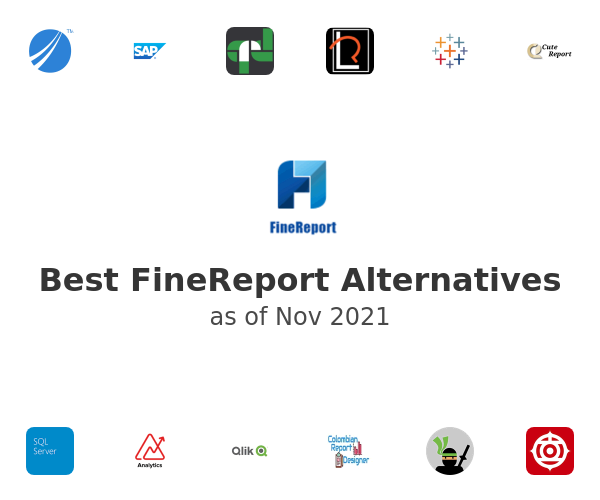 Best FineReport Alternatives