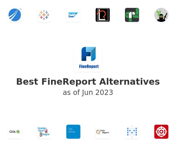 Best FineReport Alternatives