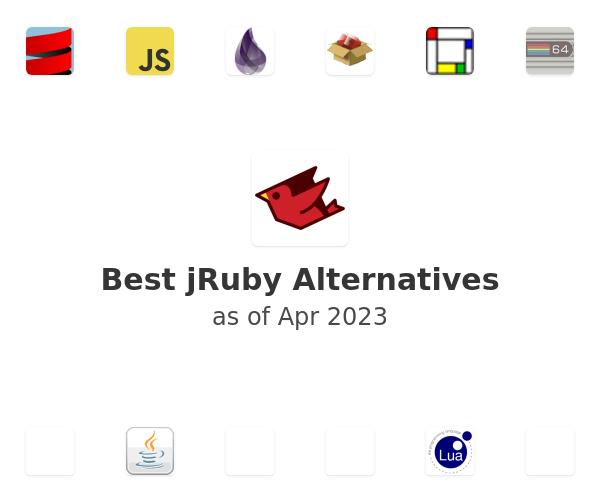 Best jRuby Alternatives