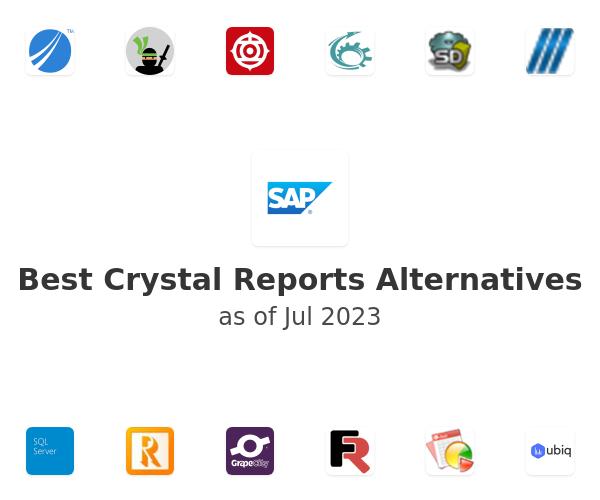 Best Crystal Reports Alternatives