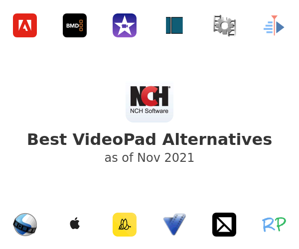 Best VideoPad Alternatives