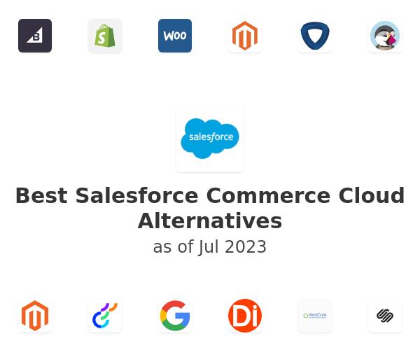 Best Salesforce Commerce Cloud Alternatives