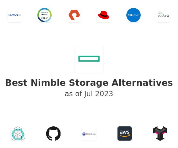 Best Nimble Storage Alternatives