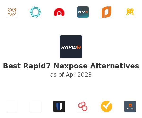 Best Rapid7 Nexpose Alternatives