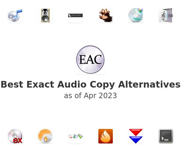Best Exact Audio Copy Alternatives
