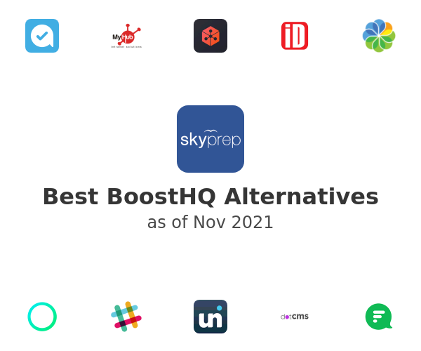 Best BoostHQ Alternatives