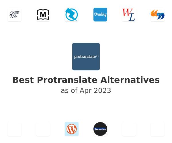 Best Protranslate Alternatives