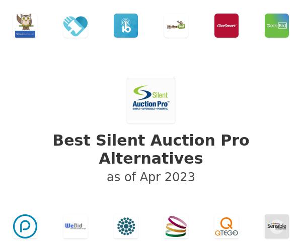 Best Silent Auction Pro Alternatives