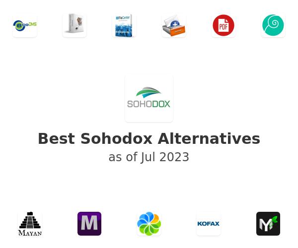 Best Sohodox Alternatives
