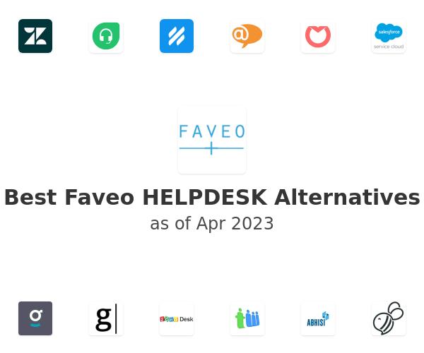 Best Faveo HELPDESK Alternatives