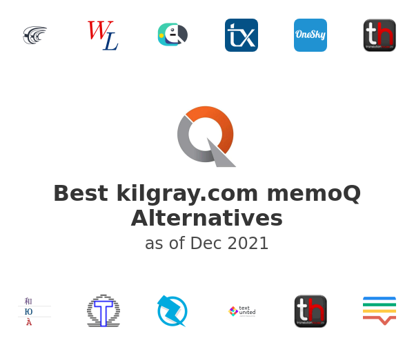 Best memoQ Alternatives