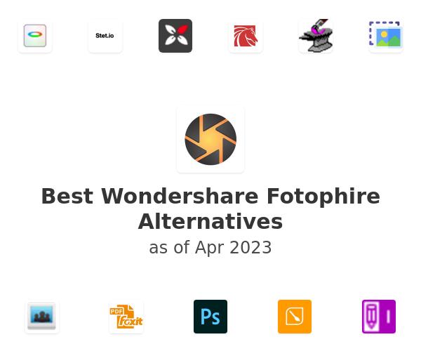 Best Fotophire Editing Toolkit Alternatives